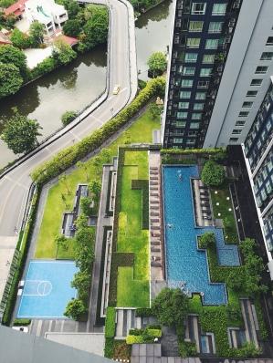 Pagalms, baseins un kanāls