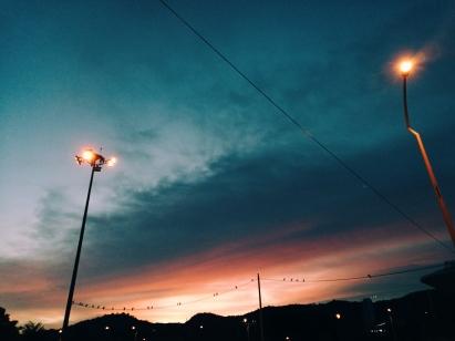 Malaizija sagaida mūs ar skaistu saulrietu