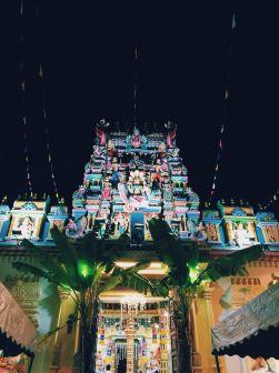 Hinduistu templis Georgetown