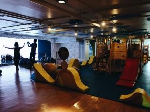 Rotaļulaukums un interaktīvā multeņu siena