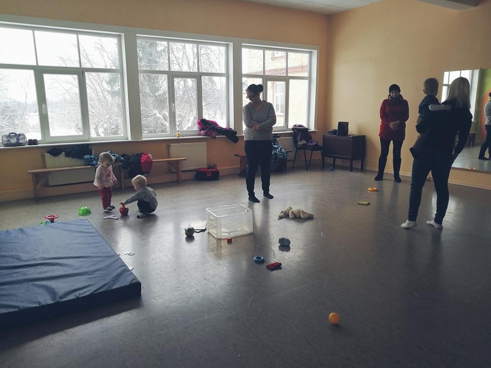 Rotaļas Bērnu un Jauniešu centrā